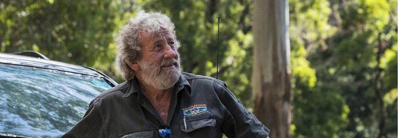 adventure activities tasmania - local tour guide Bushie and his lifelong adventure